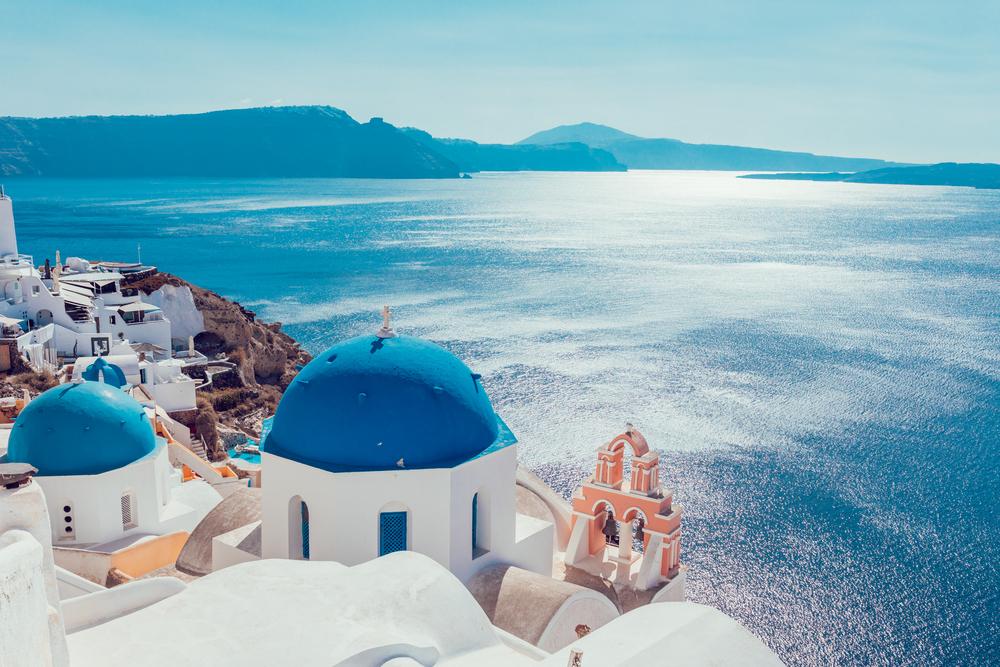 اليونان سانتوريني
