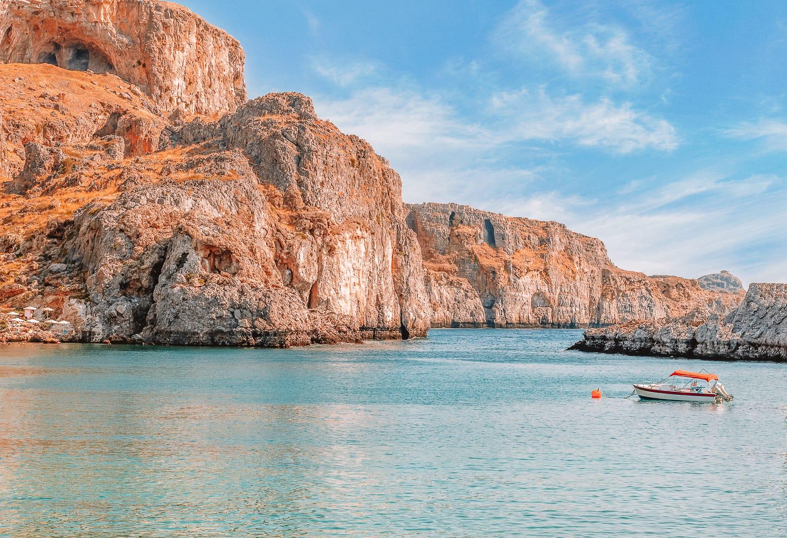 جزيرة رودس اليونانية