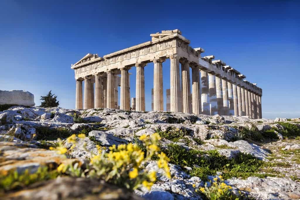 المعالم السياحية القريبة من اثينا