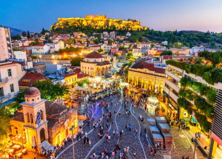 الاماكن السياحية في اثينا