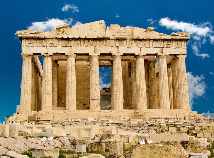 greece athens acropolis parthenon