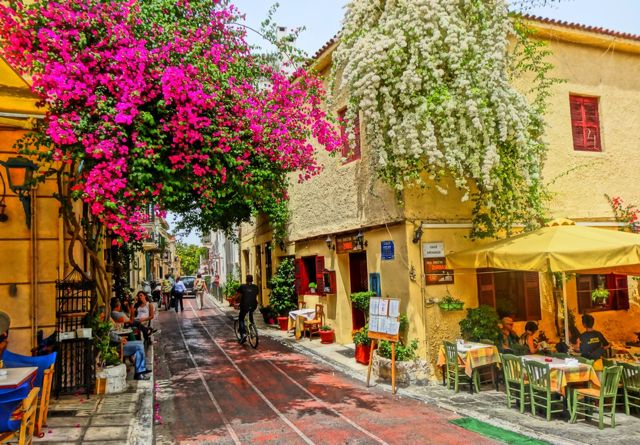 أهم مناطق الجذب في أثينا