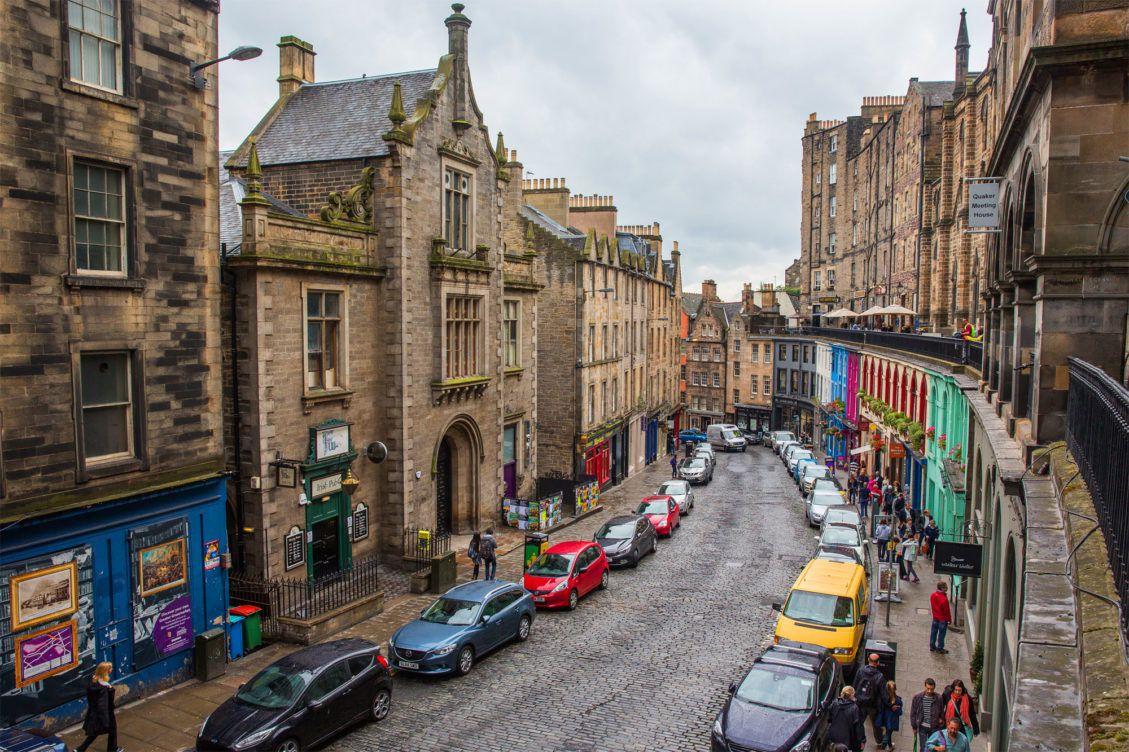 عاصمة اسكتلندا إدنبرة