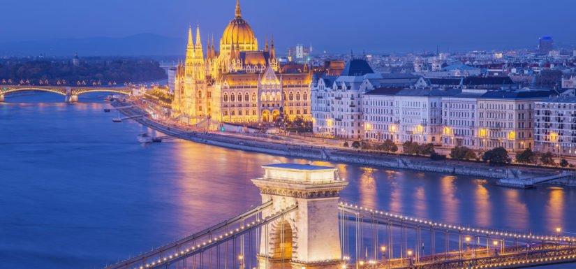مدن المجر