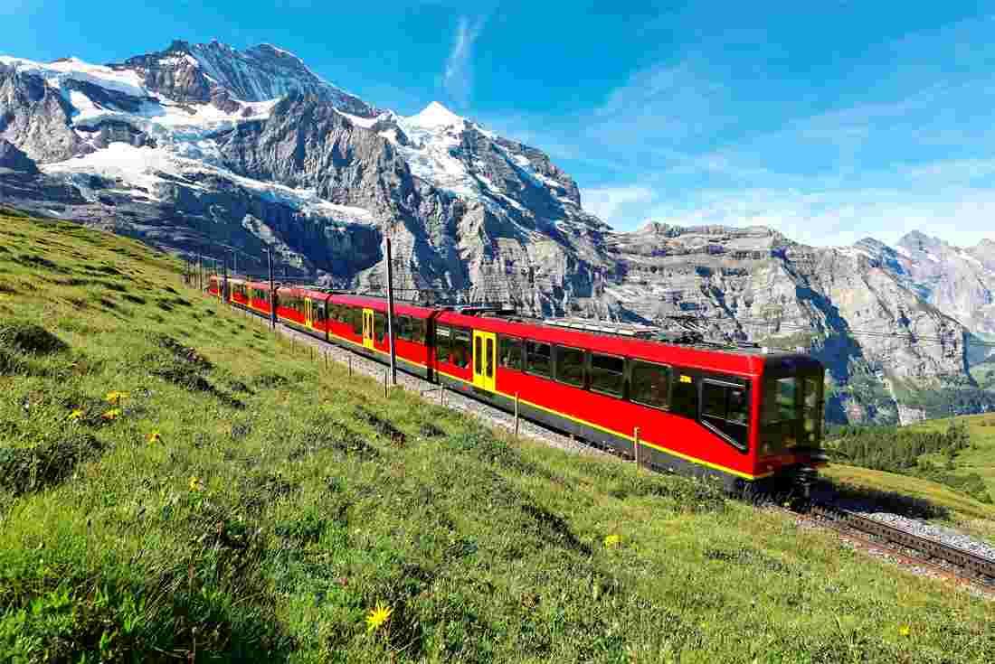 مدن سويسرا