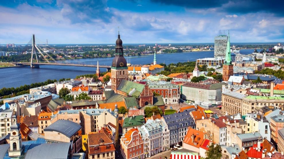 مدن لاتفيا