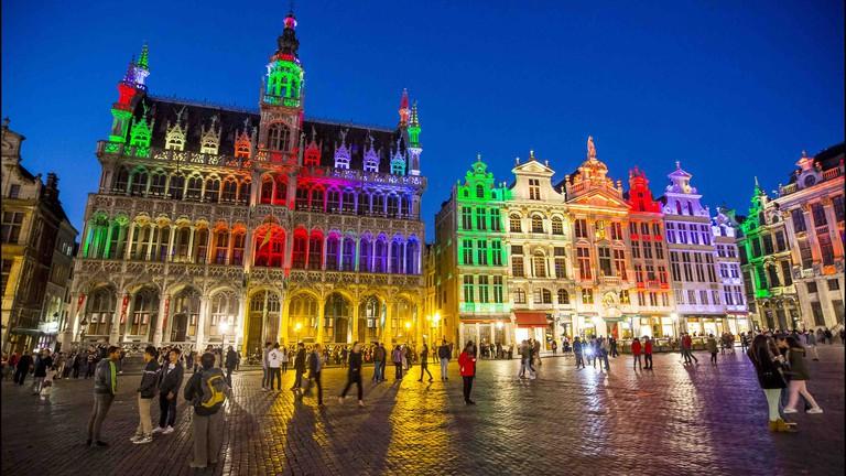 عاصمة بلجيكا بروكسل