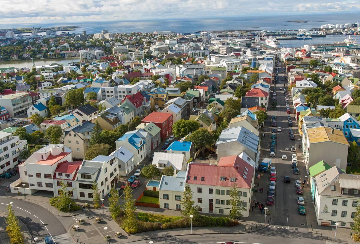 عاصمة ايسلندا ريكيافيك