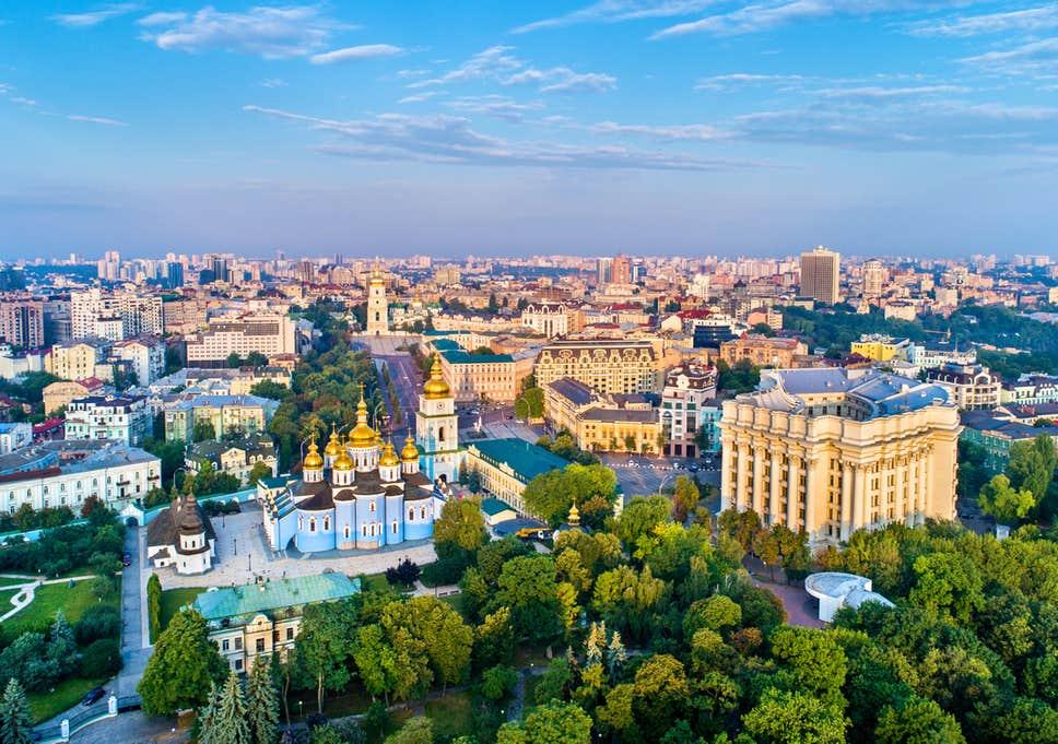 عاصمة اوكرانيا