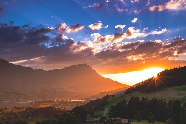 أشهر جبال سويسرا