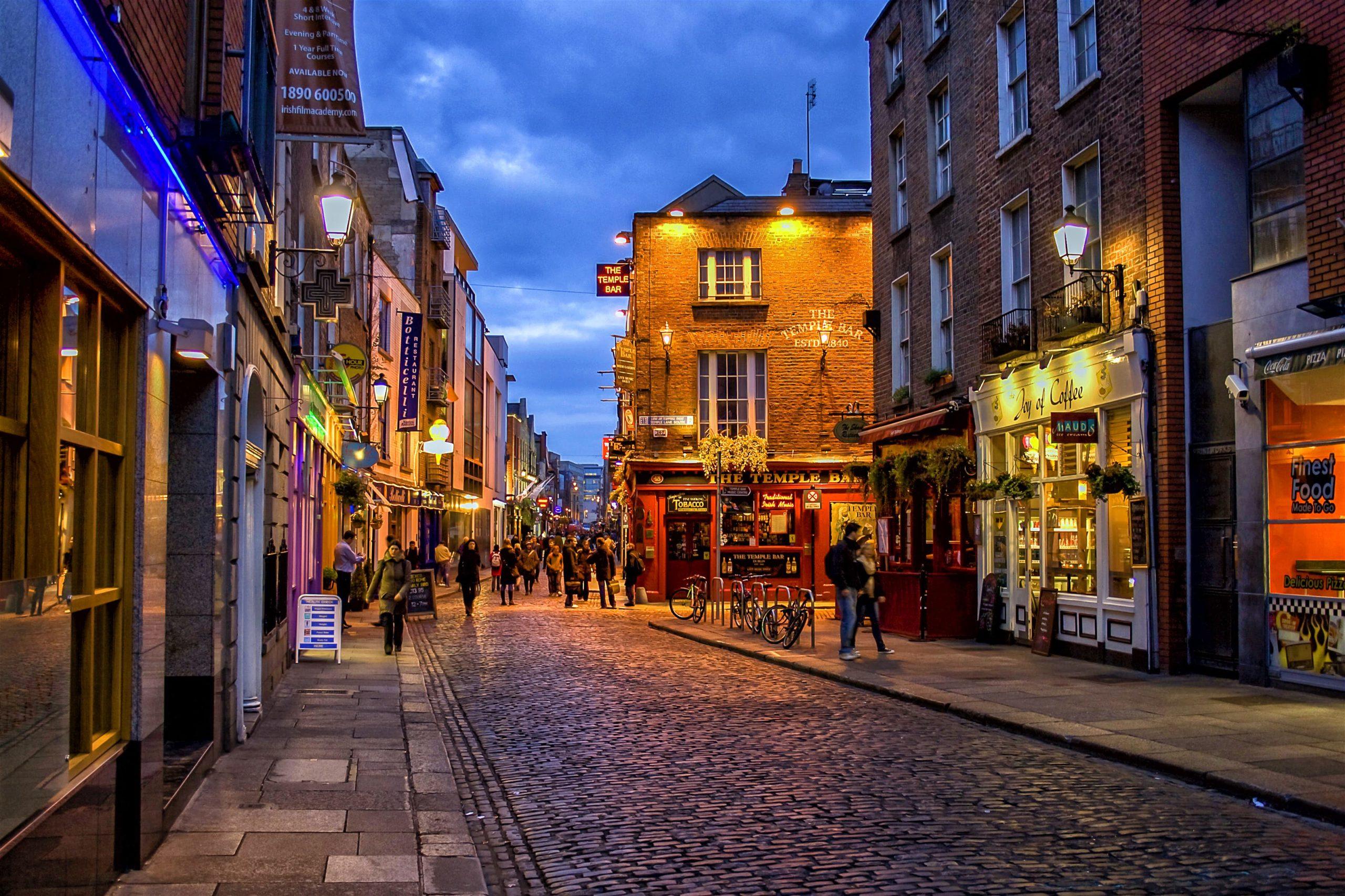 ما هي عاصمة ايرلندا