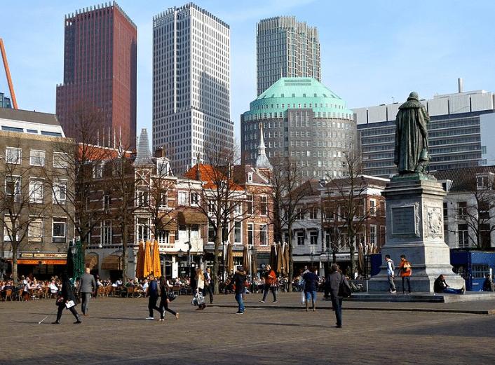 عاصمة هولندا لاهاي