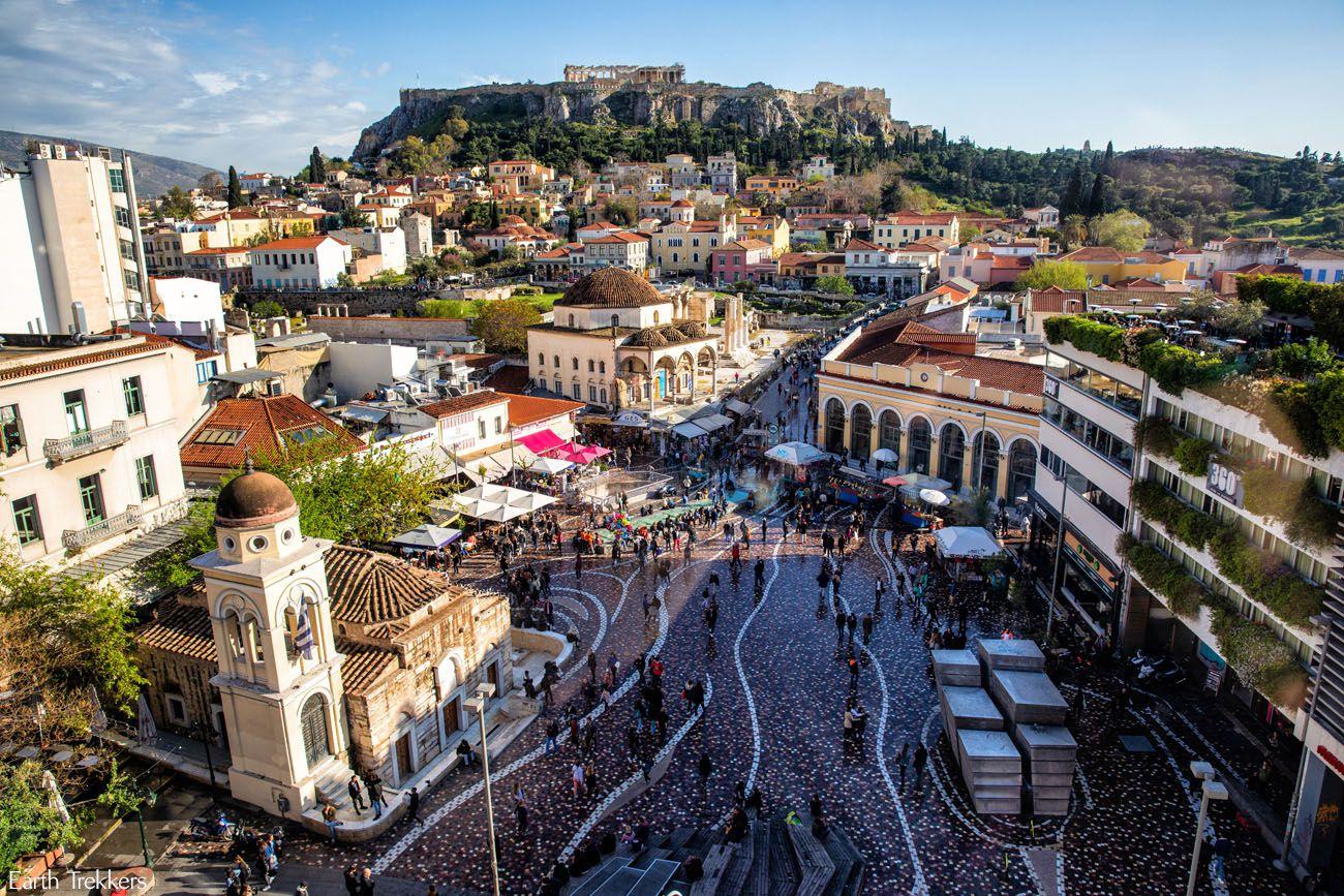 أثينا اليونانية