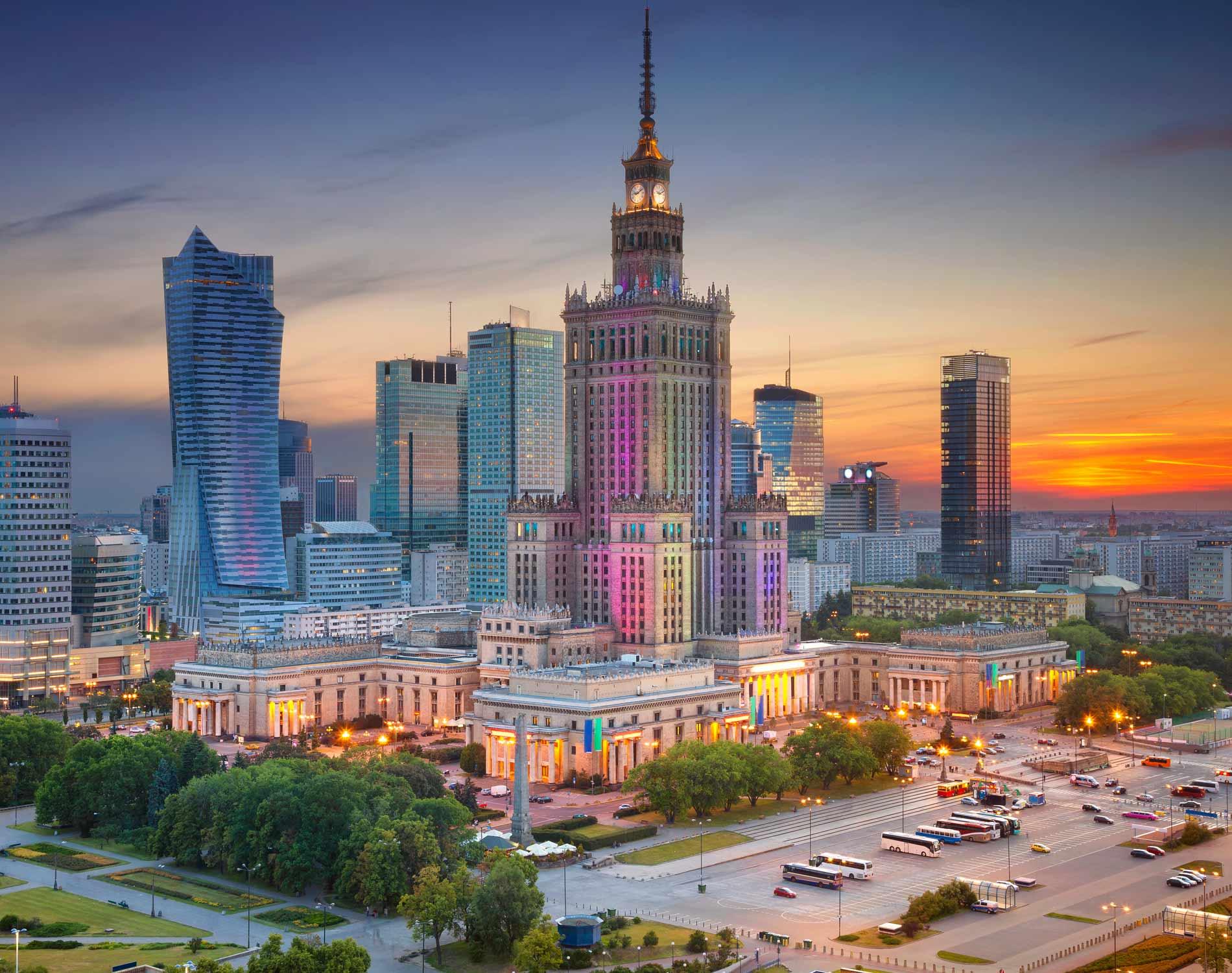 عدد سكان دولة وارسو