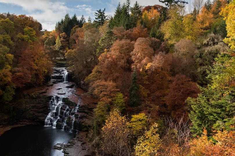 أجمل الحدائق فى اسكتلندا