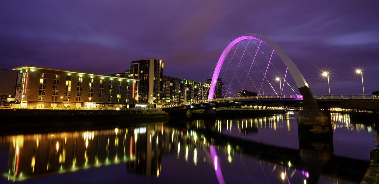 مدينة غلاسكو اسكتلندا