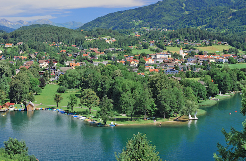 البحيرات فى النمسا