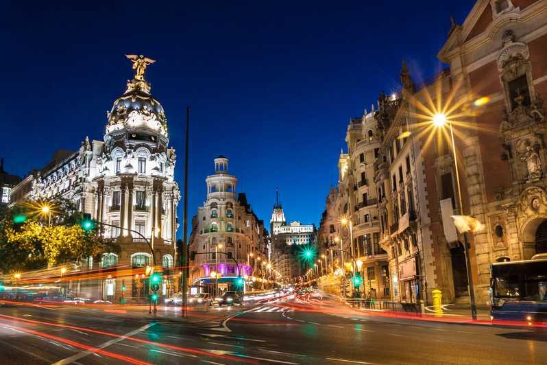 مدينة مدريد الأسبانية
