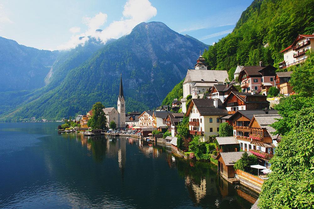 الطبيعة فى النمسا