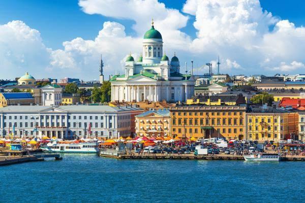 The weather in Helsinki