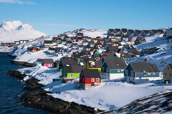 الطقس فى جرينلاند