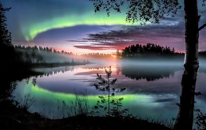جمال الطبيعة فى فنلندا