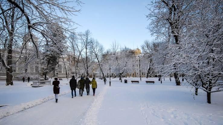 الطقس فى فنلندا