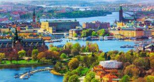 الطقس فى السويد