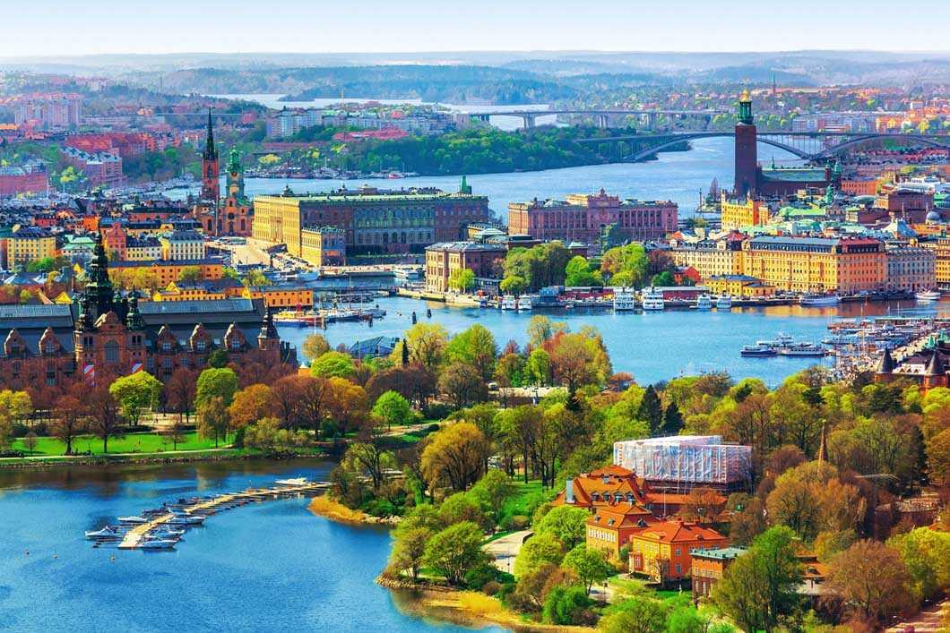 الطقس في السويد