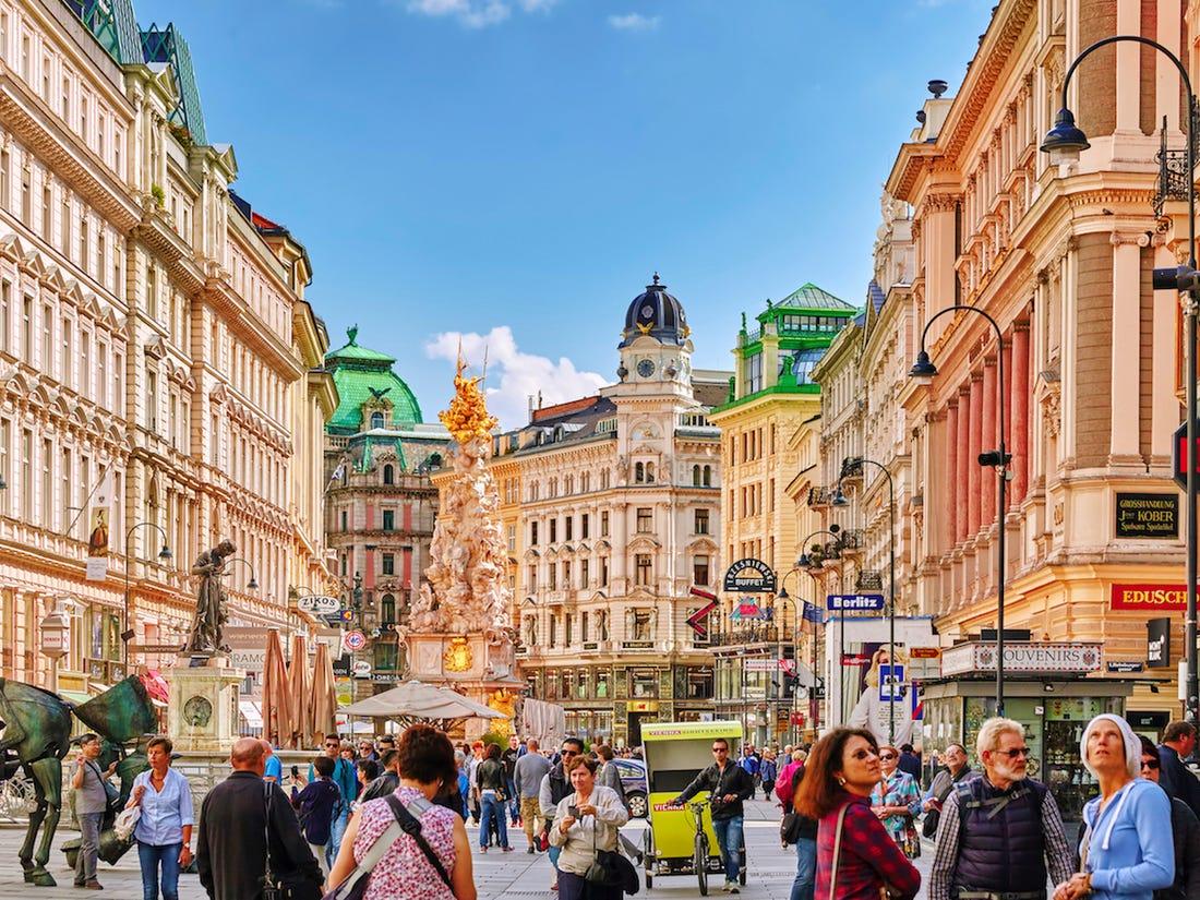 معلومات سياحية عن فيينا