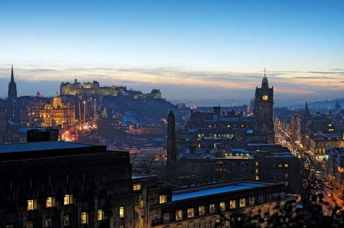 معلومات كاملة حول مدينة  إدنبرة