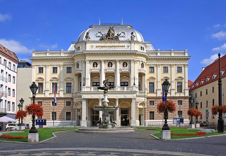 الاماكن السياحية في براتيسلافا
