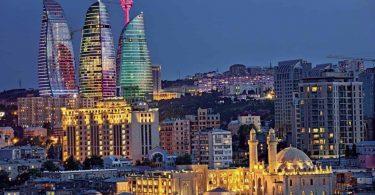اذربيجان في الشتاء