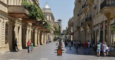 شارع نظمي في باكو